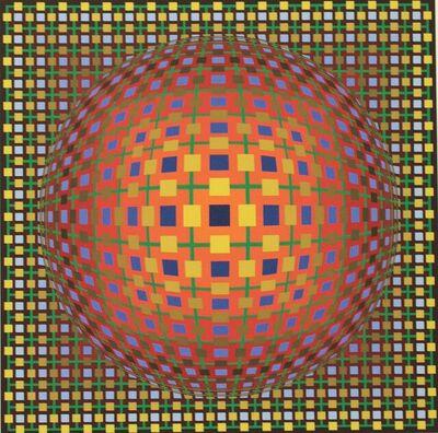 Victor Vasarely, 'Mima-Sol', 1976