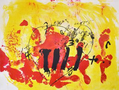 Antoni Tàpies, 'Antoni Tapies, Suite Catalana, plate 2, 1972', 1972