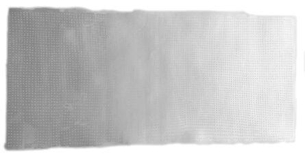 Katie Heffelfinger, 'Color Study in Silver White (unframed)', 2017