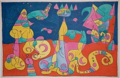Joan Miró, 'IV. Ubu Roi: La Revue', 1966