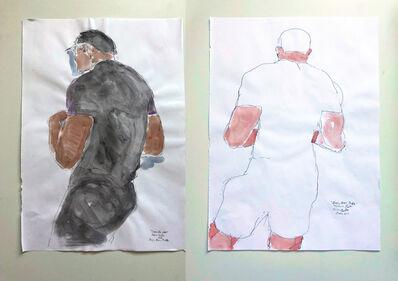 Celso Castro, 'Nando Jose of Boys, Boys, Pride Diptych', 2018