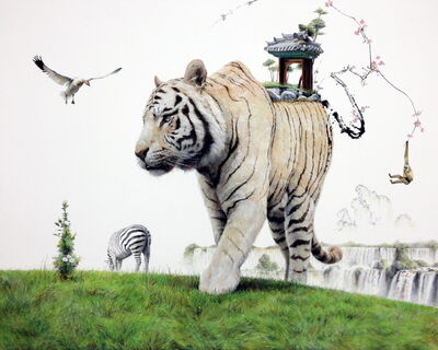 Kim Nam Pyo, 'Instant Landscape - traveler #30', 2014