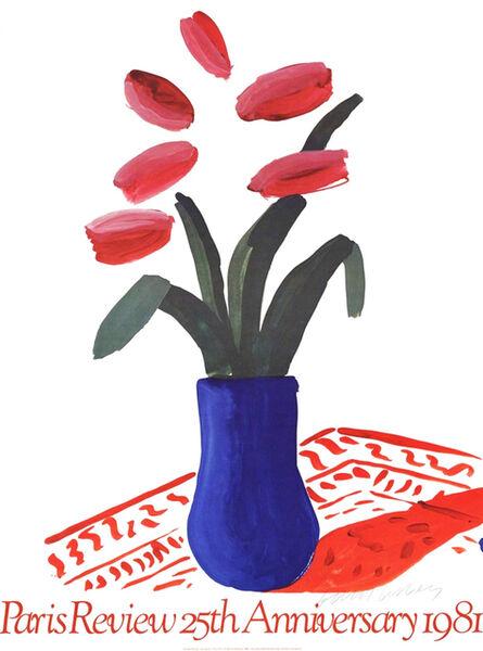 David Hockney, 'Paris Review 25th Anniversary (Flower Study)', 1981