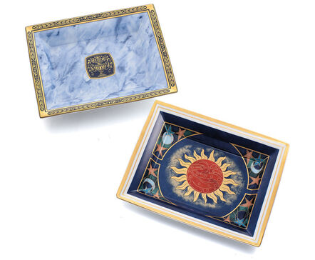 Patek Philippe, 'Two fine and attractive limited edition Limoges porcelain and enamel commemorative plates', 2003 and 2005