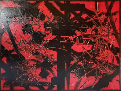 Georges Mathieu, 'Chemins nocturnes', ca. 1987