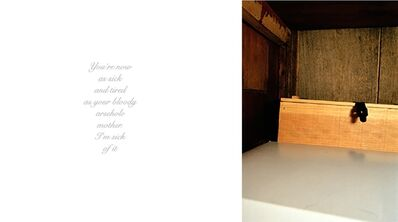 Anna Fox, 'My Mother's Cupboards and My Father's Words (08)', 1999