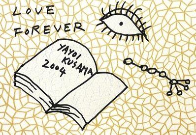 Yayoi Kusama, 'Book To Read At Night A', 2004