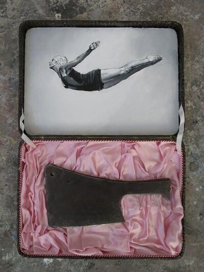 Santiago Ydañez, 'Mujer saltando', 2015