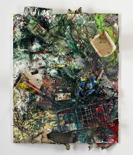 Dan Colen, 'The Women's Movement / Crazy Mamma', 2011