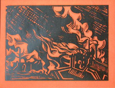 Edward Wadsworth, 'Black Country', 1919