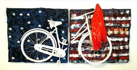 Erika Calesini, 'Bike Usa Flag', 2017