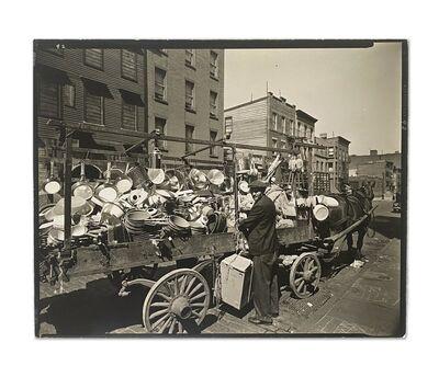 Berenice Abbott, 'Traveling Tin Shop, Brooklyn, NY', 1936