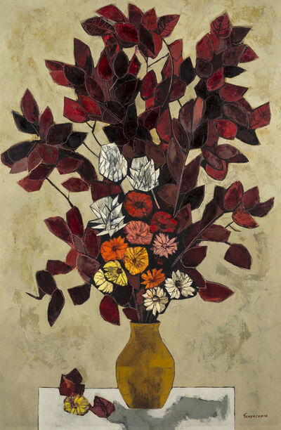 Oswaldo Guayasamín, 'Flores', 1970 -1975