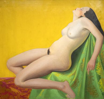 Joseph Stella, 'Reclining Nude', 1935-1939