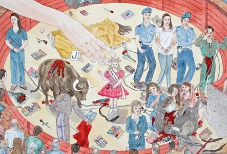 Jennifer May Reiland, 'The Arena II', 2017