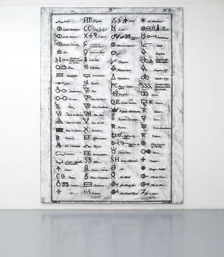 Matt Mullican, 'Untitled (Diderot, Symbols, Diptych)', 2012