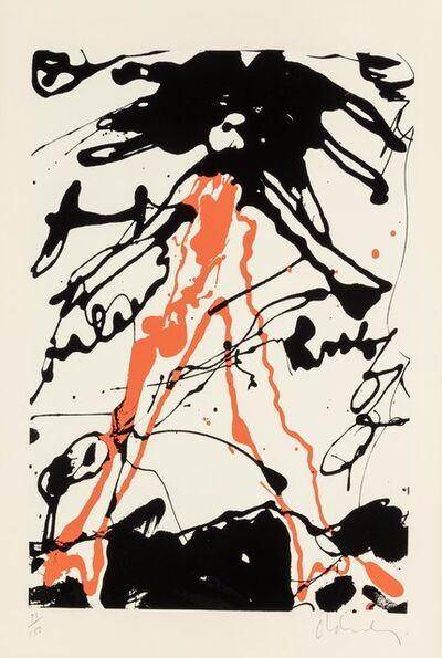 Claes Oldenburg, 'Striding Figure, from Conspiracy: The Artist as Witness portfolio', 1971