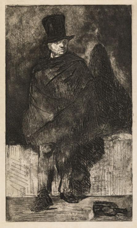 Édouard Manet, 'The Absinthe Drinker', 1867-68/1874