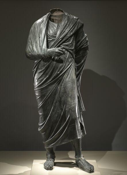Turkey, Bubon(?) (in Lycia), Roman, late 2nd Century, 'The Emperor as Philosopher, probably Marcus Aurelius (reigned AD 161-180)', c. 180-200