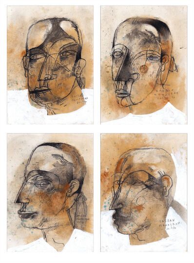Hassan Manasrah, 'The Painter Portraits', 2020