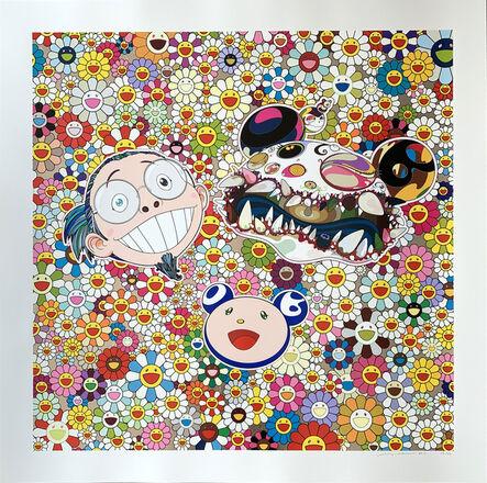 Takashi Murakami, 'Me and Double DOB', 2013