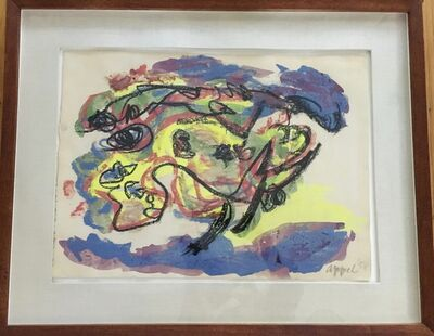 Karel Appel, 'Yellow Animal', 1958
