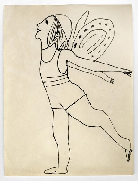 Andy Warhol, 'Fairy', ca. 1954