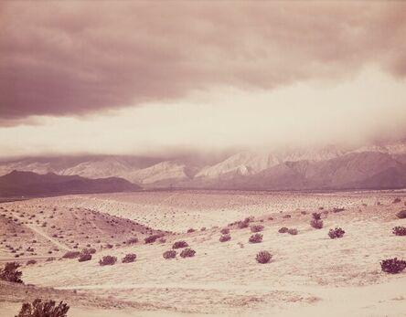 Richard Misrach, 'San Jacinto Storm, #3', 1983