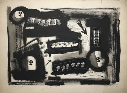 Jorge Lezama, 'La gráfica', 1953