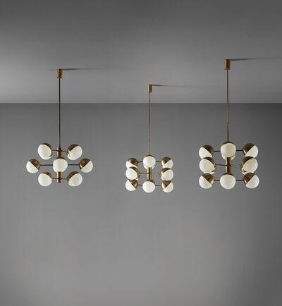 Stilnovo, 'Set of three ceiling lights', circa 1960