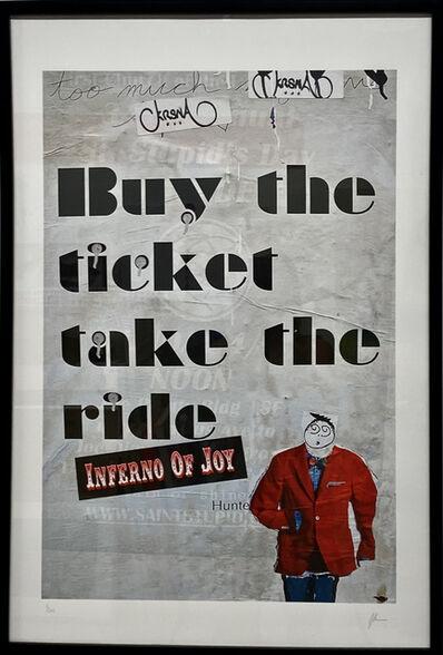 Burton Machen, 'Buy the ticket take the ride. Collage', 2000s