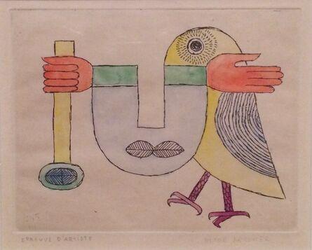 Victor Brauner, 'L'Oiseau innomé', 1958