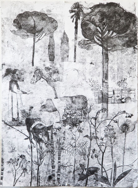 Sophie Charalambous, 'Tuscan Landscape', 2017