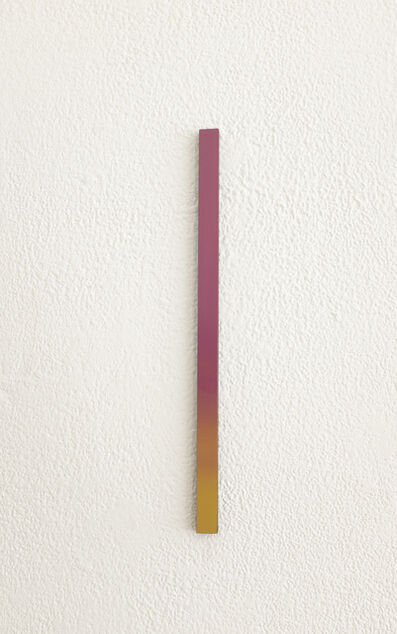 Misato Seki, 'Slit (pink and yellow)', 2019