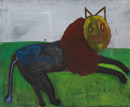 Matthias Dornfeld, 'BLAUSCHWÄNZCHEN (out of the lion series)', 2016