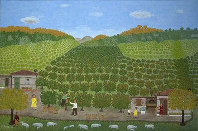 Giorgos Rigas, 'Orange Harvest', 1986