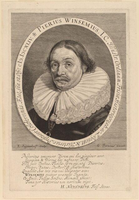 Jonas Suyderhoff, 'Petrus Winsemius'