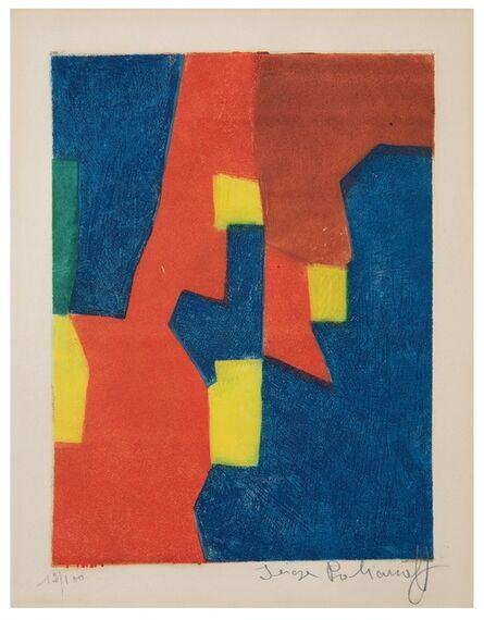 Serge Poliakoff, 'Composition rouge, jaune et bleue', 1959