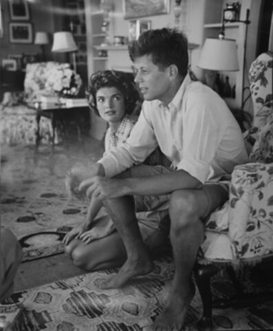 Hy Peskin, 'John F. Kennedy and Jackie Kennedy, Hyannis Port', ca. 1953