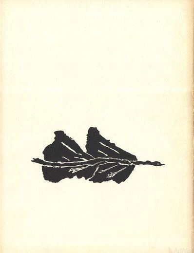 Georges Braque, 'Oiseaux Noir', 1960