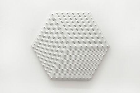 Enrico Castellani, 'Superficie bianca', 1969