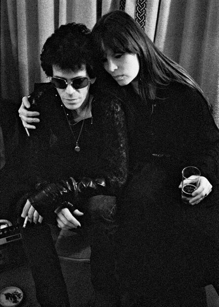 Mick Rock, 'Lou Reed & Nico', 1975