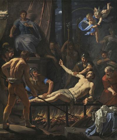 Jean-Baptiste de Champaigne, 'The Martyrdom of Saint Lawrence', ca. 1660