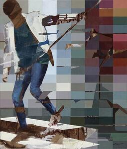 Michael Azgour, 'Eugene Descending', 2021