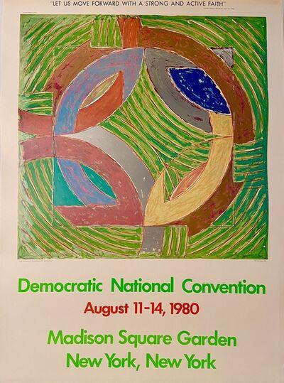 Frank Stella, 'Frank Stella, Democratic National Convention, August 11-14, 1980, Madison Square Garden, New York, New York', 1980