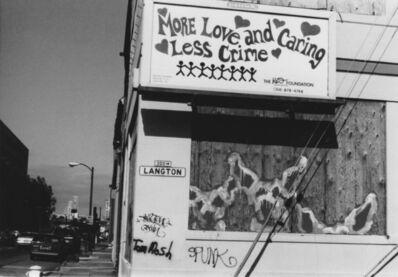 Arabella Colton, 'Wall Dogs — More Love, Langton Alley, San Francisco 1993', 1993