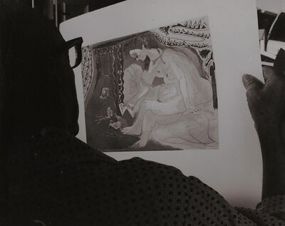 Brassaï, 'Picasso Studying One of His Works', 1960s/1960s