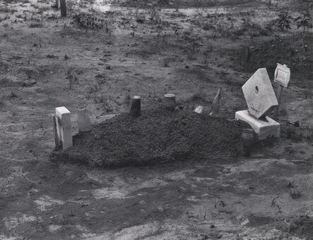 Walker Evans, 'Child's Grave, Alabama', 1936