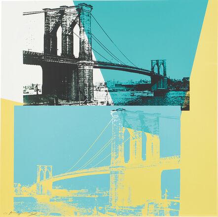 Andy Warhol, 'Brooklyn Bridge (F. & S. 290)', 1983
