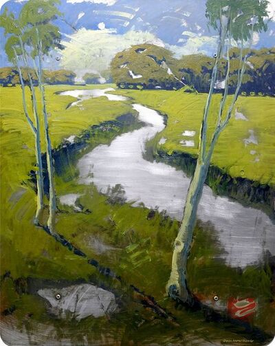 James Armstrong, 'Sonoma Inlet', 2021